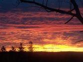 Sunrise From Baldwin Hill Road