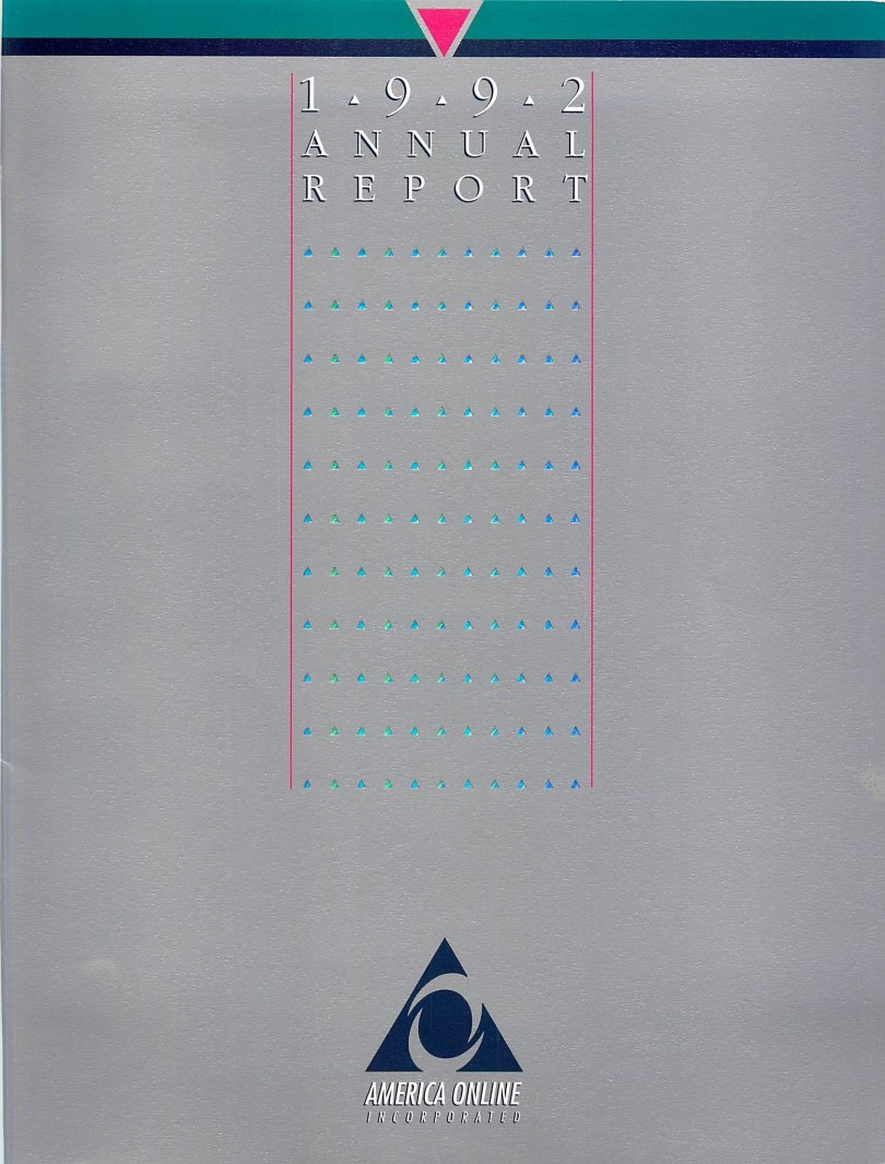 1992 AOL Annual Report