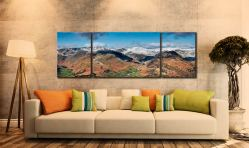 Glenridding Panorama - 3 Panel Wide Centre Canvas