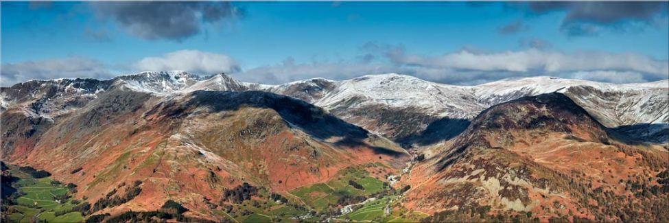 Glenridding Panorama - Canvas
