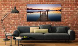 Ashness Jetty Dawn - Canvas Print on Wall