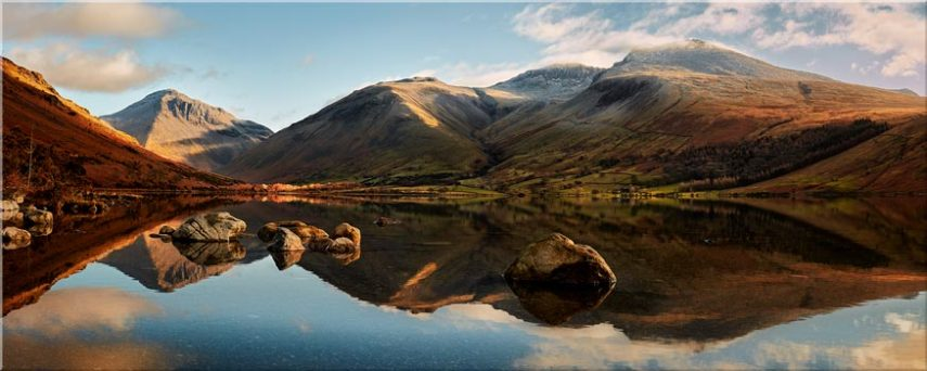 Morning Light on Scafell Pike - Canvas Prints