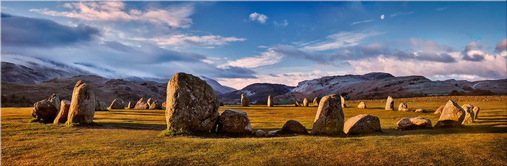 Morning Sunshine on Castlerigg - Canvas