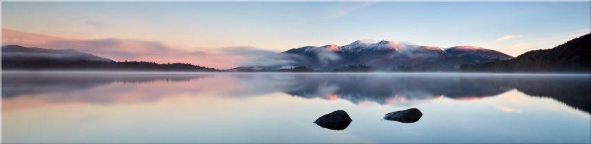 A New Day Dawns at Derwent Water - Canvas Prints
