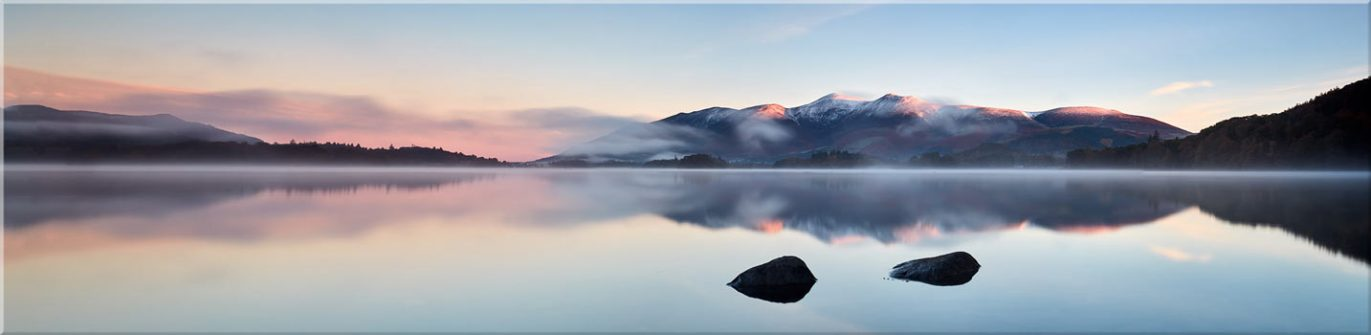A New Day Dawns at Derwent Water - Canvas Prints