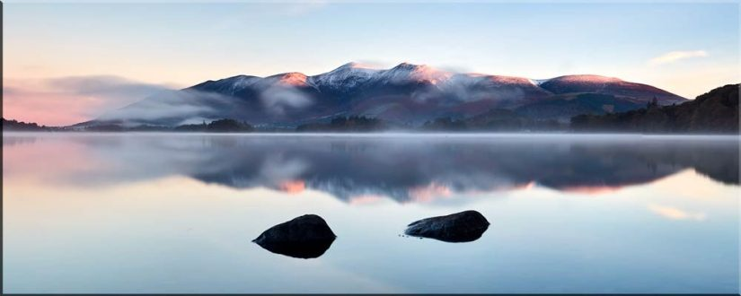 New Day Dawns Over Derwent Water - Canvas Prints
