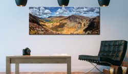 Fleetwith Pike and Buttermere Valley - Canvas Print on Wall