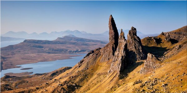 Old Man of Storr Panorama - Canvas Print