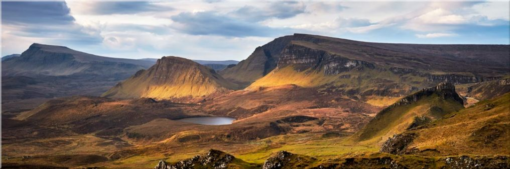 Cleat and Dun Dubh Quiraing - Canvas Prints