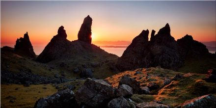 Old Man of Storr Sunrise - Canvas Print