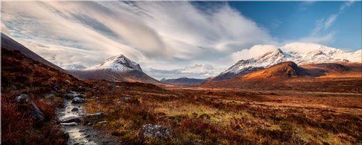 Glen Sligachan Isle of Skye - Canvas Prints