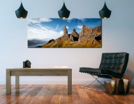 The Old Man of Storr and Needle Rock - Canvas Print on Wall