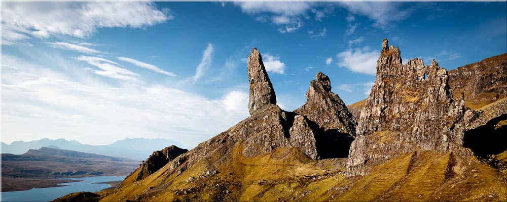 The Old Man of Storr and Needle Rock - Canvas Print