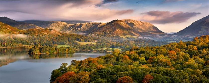 Grasmere Autumn Morning - Canvas Prints