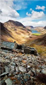 Warnscale Bothy Above Buttermere - Canvas Print
