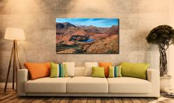Winter Sun Over Blea Tarn - Canvas Print on Wall