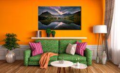 Buttermere Sky Rift - Canvas Print on Wall