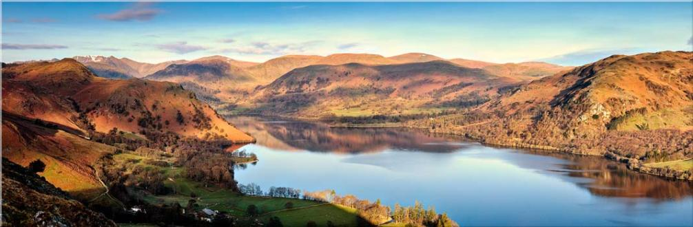 Morning Light on Ullswater - Canvas Prints