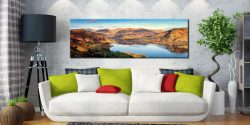 Morning Light on Ullswater - Canvas Prints Print on Wall
