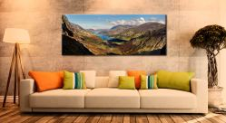 Buttermere Valley Green Crag - Canvas Print on Wall
