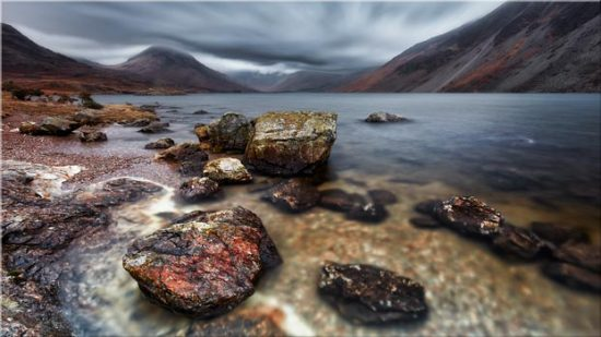 Wast Water Middle Earth - Canvas Print