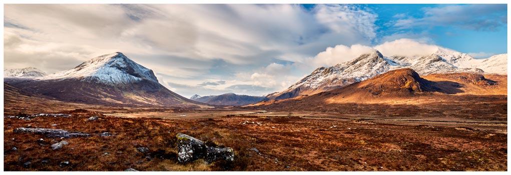 Cuillin Mountains from Glen Sligachan - Prints of Isle of Skye