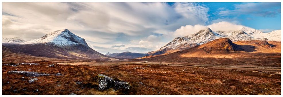 Cuillin Mountains from Glen Sligachan - Isle of Skye Print