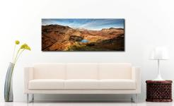 Blea Tarn From Lingmoor Fell - Canvas Print on Wall