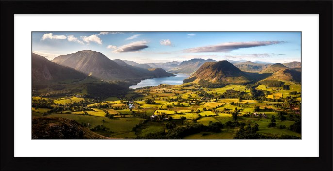 Loweswater Fell Vista - Framed Print