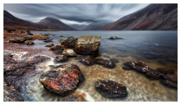 Wast Water Middle Earth - Lake District Print