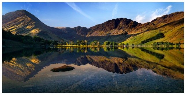 Stillness at Buttermere - Lake District Print
