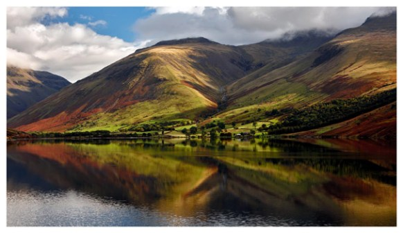 Green Fells of Wasdale - Lake District Print