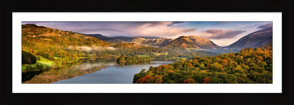 Grasmere Autumn Morning - Framed Print