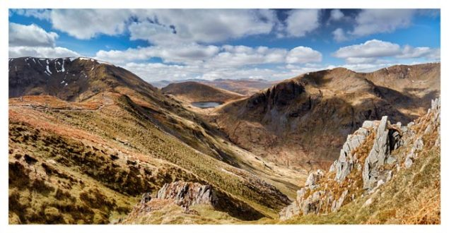 Fairfield to Dollywagon Pike - Lake District Print