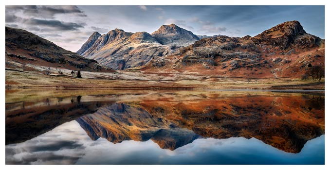 Dusk Over Blea Tarn - Lake District Print