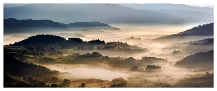 Rolling Hills of Little Langdale - Lake District Print