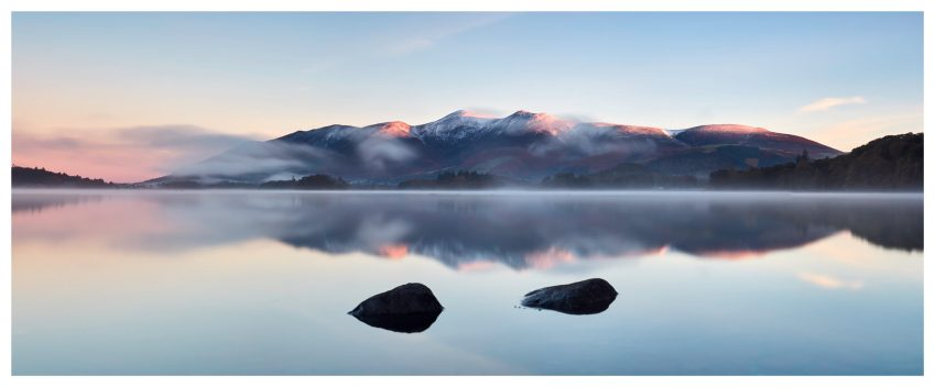 New Day Dawns Over Derwent Water - Lake District Print