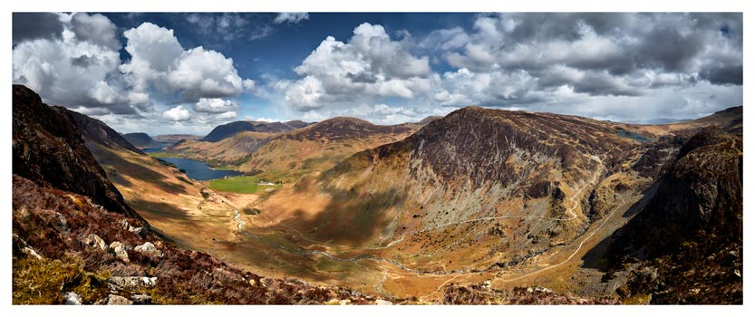 Fleetwith Pike and Buttermere Valley - Lake District Print