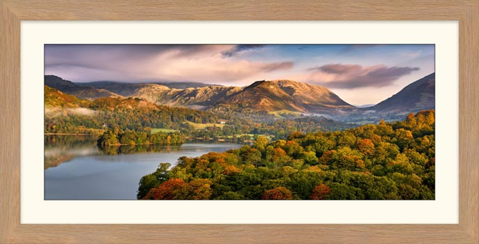 Grasmere Autumn Morning - Framed Print