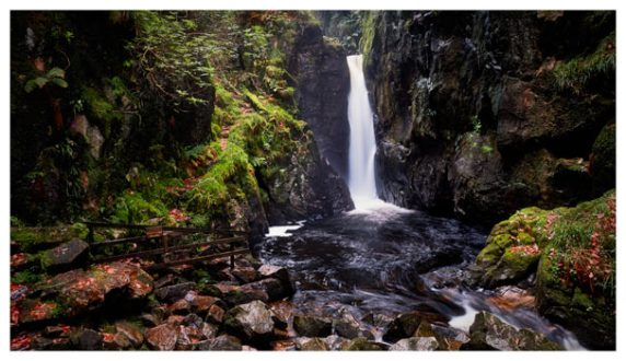 Stanley Ghyll Force - Lake District Print