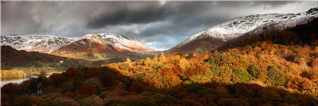 Autumn Fades Over Grasmere - Canvas Print