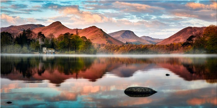 Cat Bells Red Dawn - Canvas Print