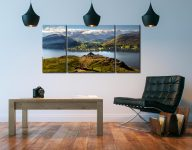 Gowbarrow to Martindale - 3 Panel Wide Centre Canvas on Wall