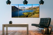 Spring at Ullswater - 3 Panel Canvas on Wall