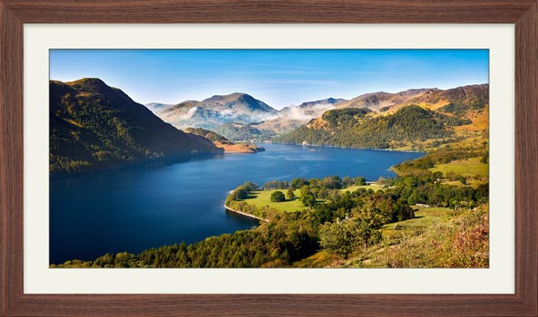Spring at Ullswater - Framed Print with Mount