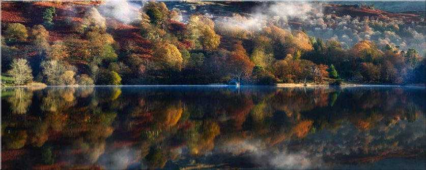 Rydal Water in Autumn - Canvas Prints