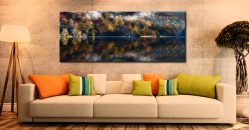 Rydal Water in Autumn - Canvas Print on Wall