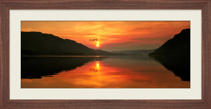 Ullswater Sunrise - Framed Print