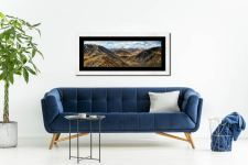 Grisedale Tarn From Deepdale Hause - Framed Print with Mount on Wall