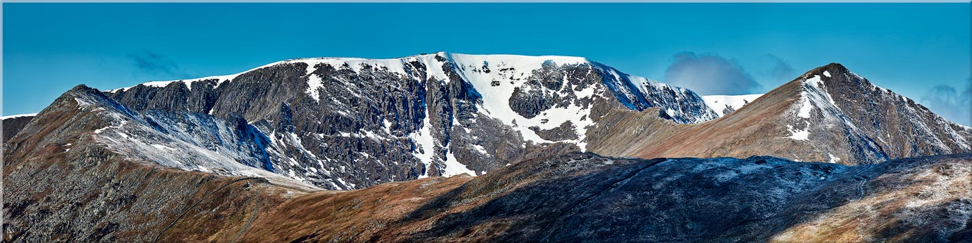 Helvellyn Snow Capped - Canvas Prints